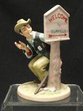Vintage Norman Rockwell * Speed Trap * Figurine
