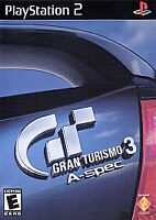 GRAN TURISMO 3 A-SPEC PLAYSTATION 2 Ps2 Kids GAME Car Racing III Very Good