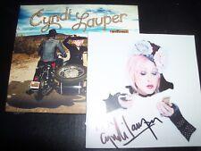 Cyndi Lauper Detour Australian Signed / Autographed Booklet Digipak CD – New