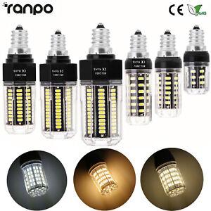E12 LED Corn Bulb 5W 6W 7W 10W 12W 15W 25W Lights Equival 20W To 100W Halogen ST