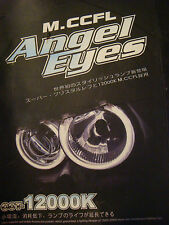 "M.CCFL ""ANGEL EYES"" Automobile Halo Rings White Lights 12000K M1000 BMW E39 01UP"
