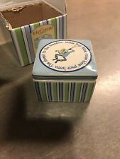 Gorham Merry Go Round Little Boy Blue Trinket Box Square / Tooth holder, etc.