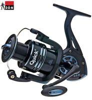 DAM Quick Fighter Pro Metal Fishing Spinning Reel FD   2+1bb 320-360FD + Spool