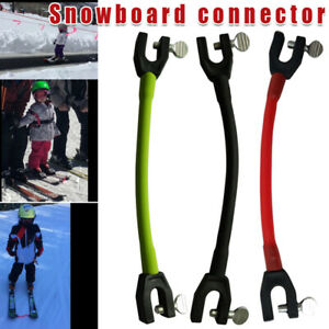 Compact Ski Tip Connector Latex Elastic Clips For Protection Edgie Wedgie Sports