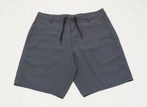Under Armour Gray Flat Loose Casual Travel Hybrid Shorts Mens 38