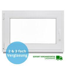 Kellerfenster Kunststoff Fenster Verglast Dreh Kipp alle Größen LAGERWARE 2 & 3