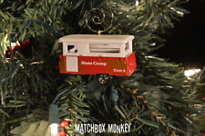 Pop Up Camper Christmas Ornament 1/64 Vacation RV Coleman, Jayco, Starcraft
