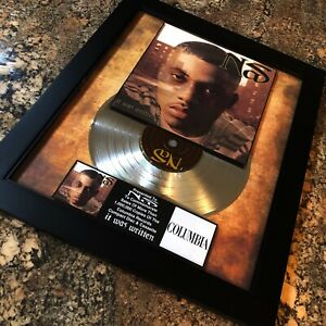 NAS It Was Written Million Record Sales Music Award Record Disc Album Vinyl LP