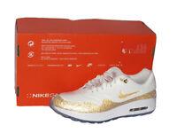 Nike x Swarovski Air Max 1 Golf NRG Gold BV0658-111 Mens Size 8 Womens Size 9.5