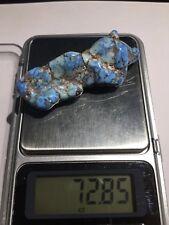 Lavender Blue Turquoise Rare Natural Gem Quality NUGGET 72.85 carat