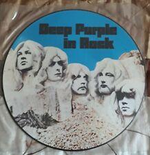 "DEEP PURPLE: In Rock, EMI/ HARVEST, UK, 12""/ PICTURE DISC, TOP, SUPER RARE!!"