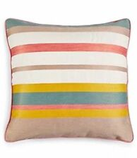 New Martha Stewart Collection Butternut Stripe Decorative Pillow 18""