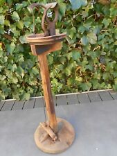 Ancien outil de GANTIER, pince étau sur pied, à restaurer, bonne base saine.