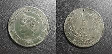 IIIème république - 5 centimes cérès 1897 A, Paris - F.118/40
