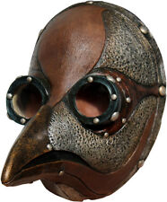 PLAGUE DOCTOR STEAMPUNK STYLE MASK LATEX HEAD MASK LARP HALLOWEEN
