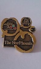 CURLING PIN LABATT BRIER 2000 SASKATOON THE STAR PHOENIX Sponsor