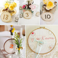 1 Bamboo Cross Stitch Machine Embroidery Hoop Ring Sewing Gadget 13 -34 CM Craft