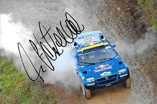Ari Vatanen  SIGNED Volkswagen Touareg , Paris Daker Rally 2007