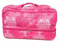 Vera Bradley Lighten Up Wheeled Carry On Stamped Paisley NWT