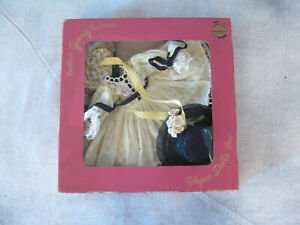 Vogue Ginny Doll 1956 Formal 6172 in orig. Box Complete RARE w/ Hat Medford