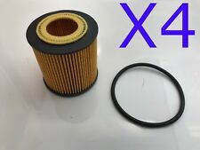 4X Oil Filter Suit R2720P Ford Ranger 2.2L TDCi 3.2L / Mazda BT50 2011-on WCO161