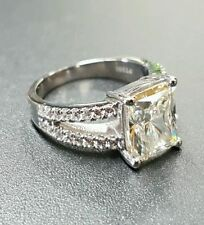 Platinum Diamond Band Fine Rings