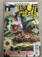 OUTSIDERS #1 FIRST ISSUE ANNUAL PRISON BREAK WINICK 2007 VF FREE SHIP