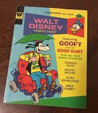 Walt Disney Comics Digest #43 ~ 1973 Gold Key / Goofy Vintage Retro 70s