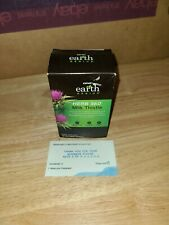 GNC Earth Genius HERB 360 Milk Thistle 500mg 30 Vegetarian Caps EXP 4/20