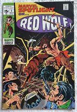 Marvel Spotlight #1 (1971) *Lot E* Bronze Age ! Origin Red Wolf ! Key !