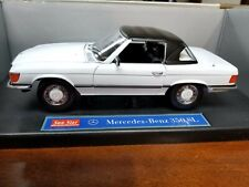 Sunstar Mercedes-Benz 350SL 1:18 White with Black Top NIB