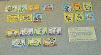 Disney Stamps Lot of (20) 79-82 Antigua x 7, Dominica x 7, Grenada x 6 - Mint