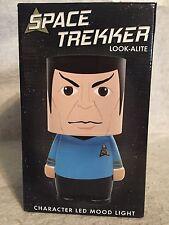 Space Trekker Star Trek New LED Look-ALite Mood Lamp Light. Spock. UNIQUE.  USB