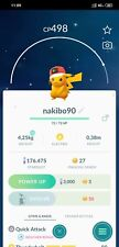Pokemon Shiny Pikachu wearing the World Cap - Trade 20k stardust or Mini Account