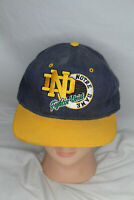 Vintage STARTER Notre Dame Fighting Irish Snapback Hat Cap 90s Embroidered