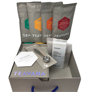 Teavana Start Steeping Artisanal Platnium Edition Kit Peach Maharaja Jade Youthb