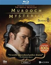 MURDOCH MYSTERIES SEASON 8 New Sealed Blu-ray