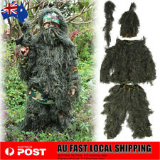 Leaf Ghillie Suit Woodland Camo Camouflage Clothing 3d Jungle Hunting Hunt