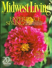 2007 Midwest Living Magazine: Experience Spring!/Big Color From Small Gardens