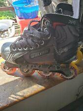 Bauer Vapor Xr3 Inline Roller Hockey Skates Size Us 4 youth