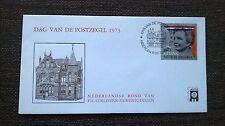 Dag van de postzegel 1973 blanco en open klep