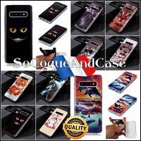 Coque Etui housse FASHION STYLE TPU Souple Case Samsung Galaxy S10, S10e, S10+