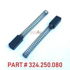 2x Carbon Brosse FITS BERNINA ancien style machines à coudre # 324250080/324.250...