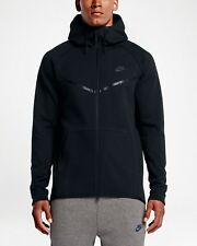 NIKE TECH FLEECE WINDRUNNER FULL ZIP HOODIE BLACK 805144-010 MEN'S SIZE XL-TALL
