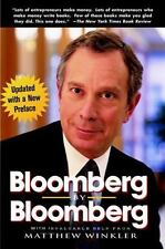 Bloomberg by Bloomberg by Michael Bloomberg (2001, Paperback)