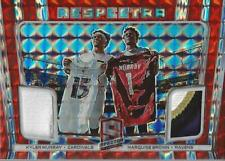2020 Panini Spectra Respectra Neon Orange Kyler Murray Marquise Brown Jersey /10