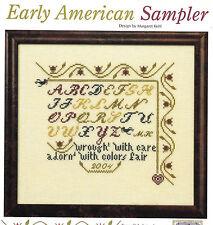 "Cross Stitch Patterns ""Early American Sampler""; ""Bedouin Legend"""