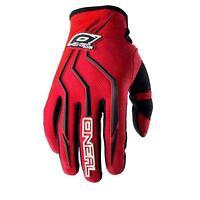 O'Neal Element Handschuh Rot DH Moto Cross MTB Downhill Mountain Bike Fahrrad