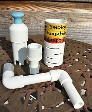 "Aquaponics Bell Siphon, 4"" Media Mini Kitchen Garden, 7000+ Siphons Worldwide!!"