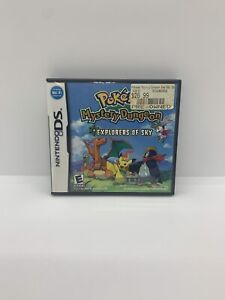 Pokemon Mystery Dungeon: Explorers of Sky (DS, 2009) Authentic